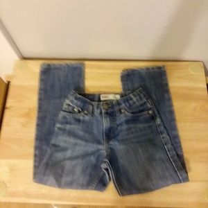 Levis 511 size 7 Boys  Distressed Knees Slim Jeans